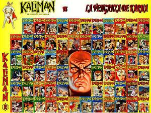 KALIMAN-EL-HOMBRE-INCREIBLE-COMICS-COMPLETE-COLLECTION