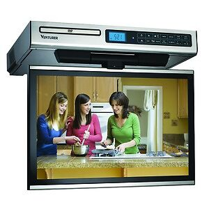 Venturer-15-4-Inch-Under-Cabinet-Kitchen-LCD-TV-DVD-Combo-AM-FM