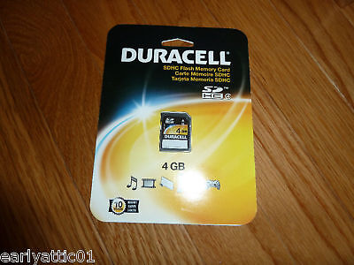 Duracell 4gb Secure Digital High Capacity (sdhc) Card