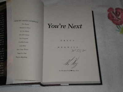 You're Next By Gregg Hurwitz Signed