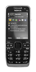 New-Nokia-E52-3G-GPS-3-2MP-Unlocked-Cell-Phone-Black