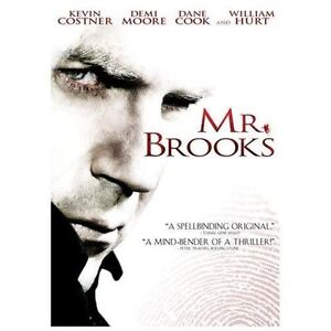 DVD-Mr-Brooks-Kevin-Costner-Demi-Moore-Dane-Cook-William-Hurt-NEW-DVD