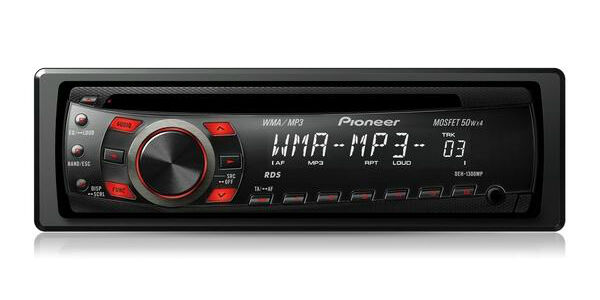 Pioneer DEH-1300MP CD Receiver