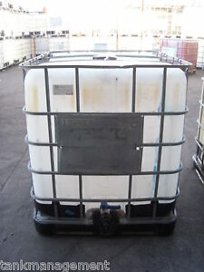 ibc1000 b 1000l ibc water tank free adaptor in nsw ebay. Black Bedroom Furniture Sets. Home Design Ideas