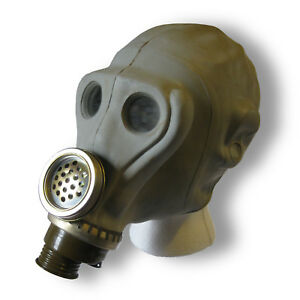 Gray-Russian-Army-Soviet-Gas-Mask-Sniper-Gasmask-Rare-Unique-Gift-War