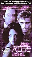 NEW ROSE HOTEL VHS CHRISTOPHER WALKEN ASIA ARGENTO USED VERY GOOD