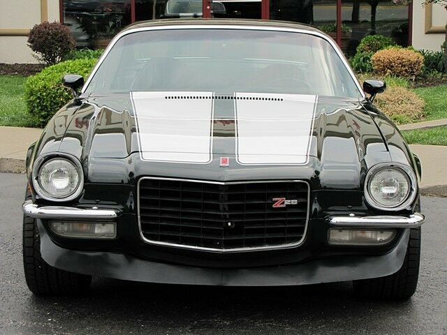 1973 Z28 Camaro Geen/White Stripes Restored