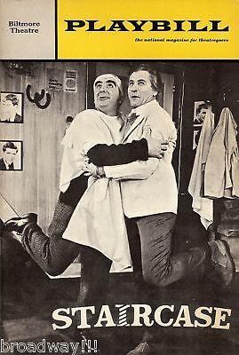 "Eli Wallach ""STAIRCASE"" Milo O'Shea / Charles Dyer 1968 Broadway Playbill"