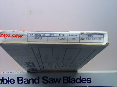 Skil Band Saw Blade 80033 44-7/8 Long 24 Tpi