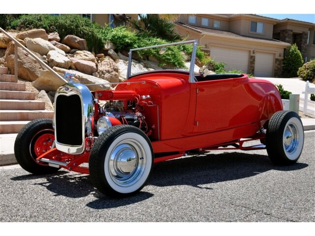 1928 FORD MODEL A ROADSTER HOT ROD - Brand New Build