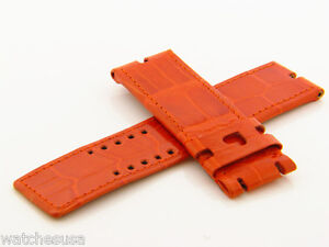 Roger-Dubuis-22mm-Orange-Heart-Watch-Band-Strap