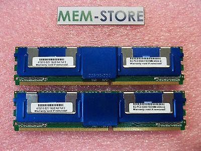 413015-b21 16gb 2x8gb Ddr2-667 Fbdimm Fully Buffered Memory Hp Proliant