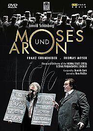 Moses Und Aron: Vienna State Opera (Gatti) DVD NEW