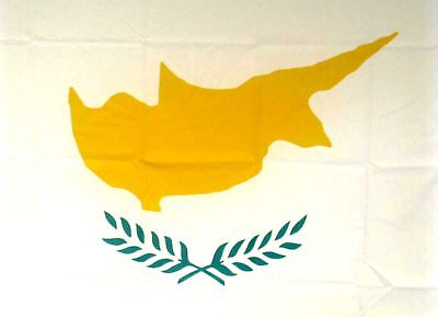 CYPRUS CYPRIOT FLAG 5FT X 3FT