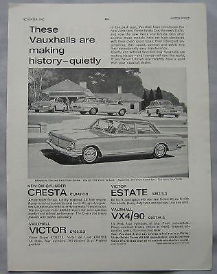 1962 Vauxhall Original advert