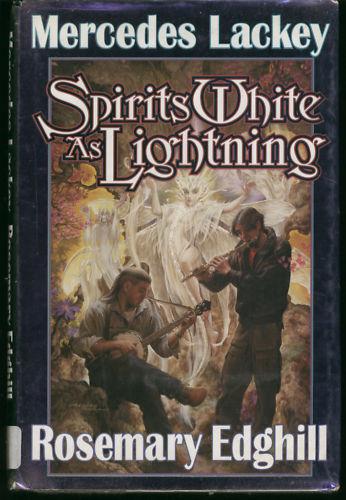 Mercedes Lackey SPIRITS WHITE AS LIGHTNING hbdw ex lib