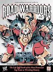 WWE-The-Road-Warriors-The-Life-and-Death-2-Disc-DVD-SET-2005-HAWK-ANIMAL