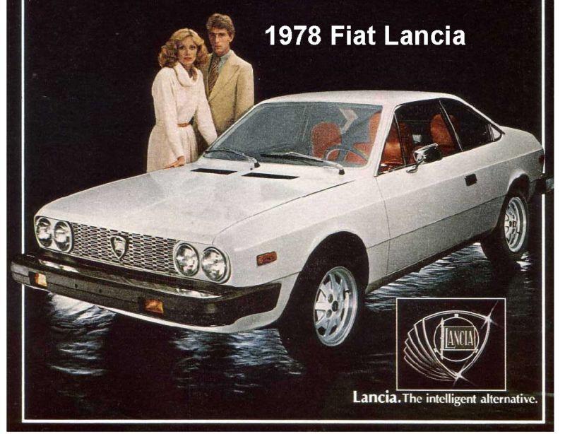 1978 Lancia Fiat Auto Refrigerator/ Tool Box Magnet