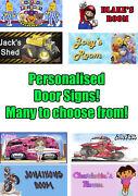 Personalised Name Door Signs