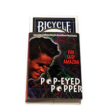 RED-Bicycle-POP-EYED-POPPER-Playing-Cards-Gaff-forcing-Magic-Trick-Deck-svengali
