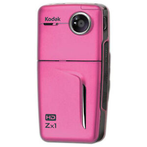 Kodak 8248403 Zx1 HD Digital Camcorder PINK ZX1PINK NEW