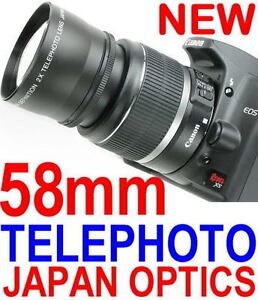 58mm TELEPHOTO Lens FOR CANON 450D 500D 350D 400D