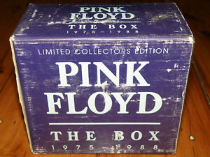Pink-Floyd-The-Box-1975-1988-7Disc-Set-VGC-ORIGINAL