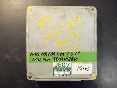 1989 MAZDA 929 V-6 A/T ECU/ECM #JE0718881C