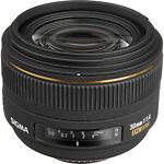 Sigma  EX DC HSM Aspherical 30 mm   F/1.4  Lens For Nikon