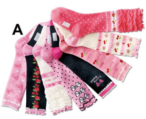 Set-8-Strawberry-Princess-Knee-High-Socks-15-19-20-24CM