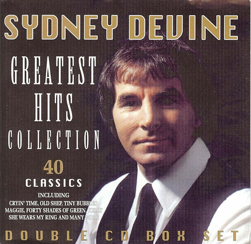 Sydney Devine Greatest Hits 40 Classics/2CD set