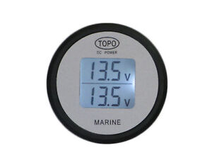 TOPO DC Power, Dual Battery DC Volt meter/ 4wd /caravan