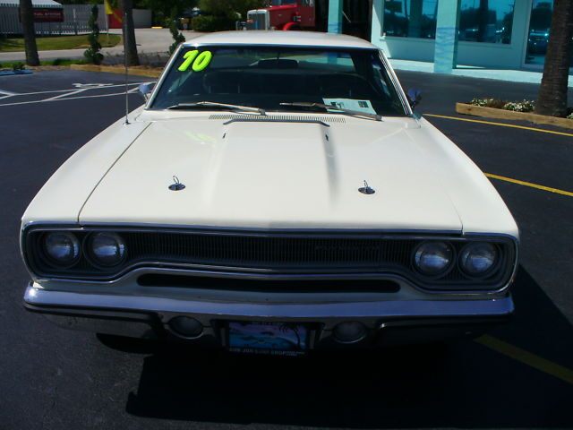 1970 PLYMOUTH SATELLITE 440 HEMI SUSPENSION ONE FAMILY