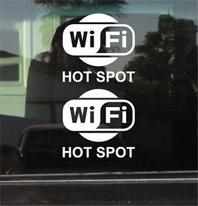 WI-FI-HOT-SPOT-VINYL-DECAL-STICKER-PAIR