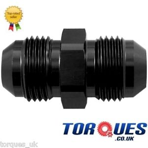 AN-6-AN-06-to-AN6-Straight-Flare-Union-Adapter-Black