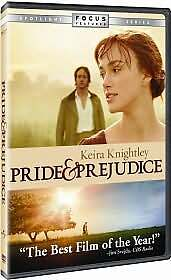 Pride and Prejudice (DVD, 2006, Full Scr...
