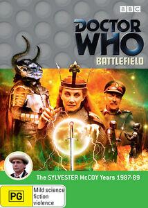 Doctor Who: Battlefield DVD Region 4/Aus New & Sealed