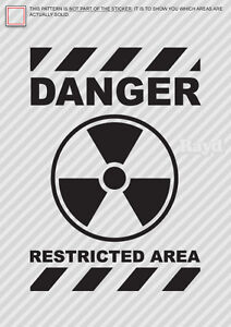 Danger-Restricted-Area-Sticker-Decal-Die-Cut-black