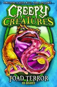 Graves, Ed, Toad Terror (Creepy Creatures), Very Good Book