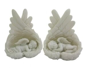 "**2 x ""GENTLE DREAMS"" - SLEEPING CHERUBS / ANGELS**"