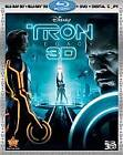 Tron: Legacy (Blu-ray/DVD, 2011, 5-Disc Set, Includes Digital Copy; 2D/3D)
