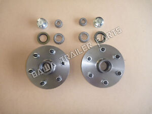 6-Stud-LAND-CRUISER-Trailer-Hubs-with-Ford-or-Slimline-Bearings-TRAILER-PARTS