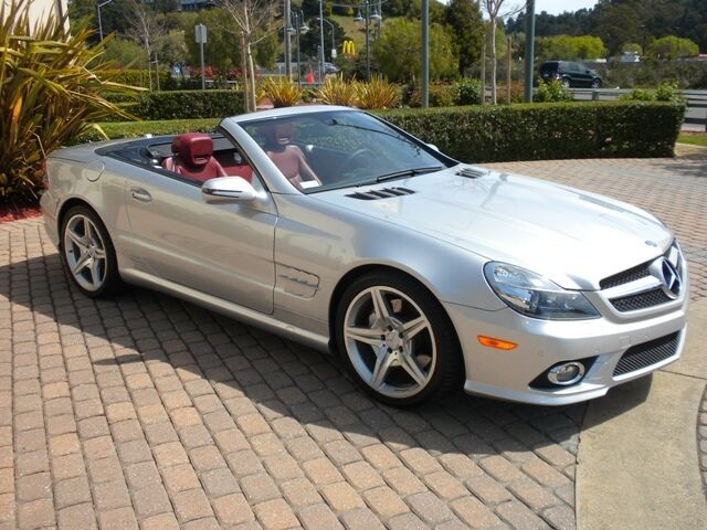 Mercedes benz sl550 silver arrow used cars for sale for Mercedes benz sl550 for sale used