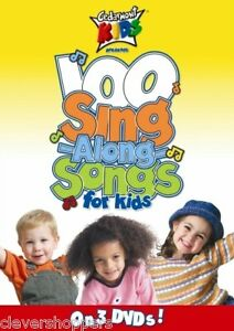 Cedarmont Kids 100 Singalong Songs For Kids 3 DVD Set