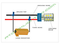 How to hook up ballast resistor