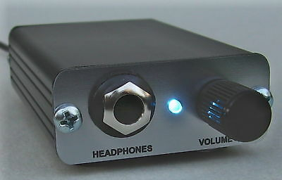 Desktop HiFi CMoy headphone Amplifier, OPA2134 amp