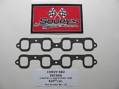 Chevy Sb2 Intake Gaskets