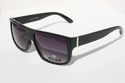 Black Fashion Mob Sunglasses Trendy Celebrity Flat Top
