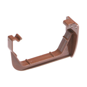 BROWN-SQUARE-Guttering-Brackets-Pack-of-5