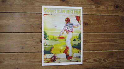 Elton John Goodbye Yellow Brick Road Repro POSTER